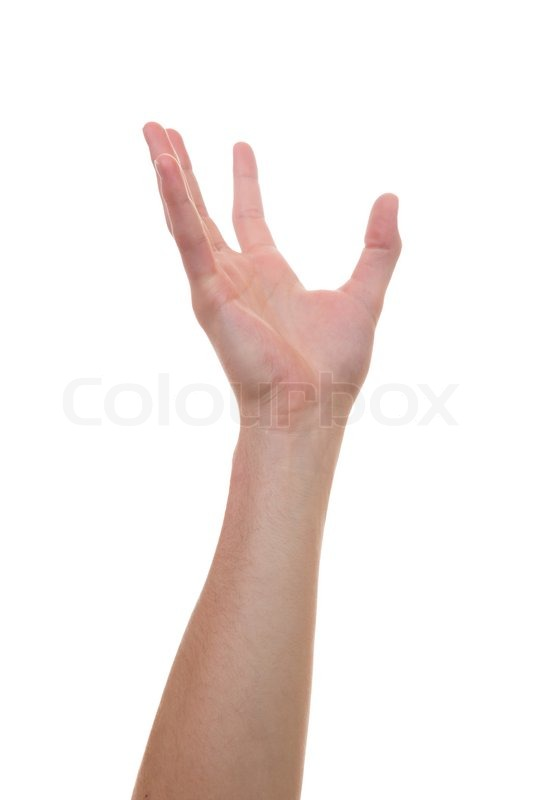 caucasian hand reaching for another person or body part stock