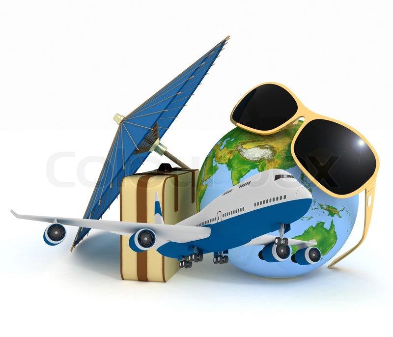 Spritzen Im Koffer Flugzeug