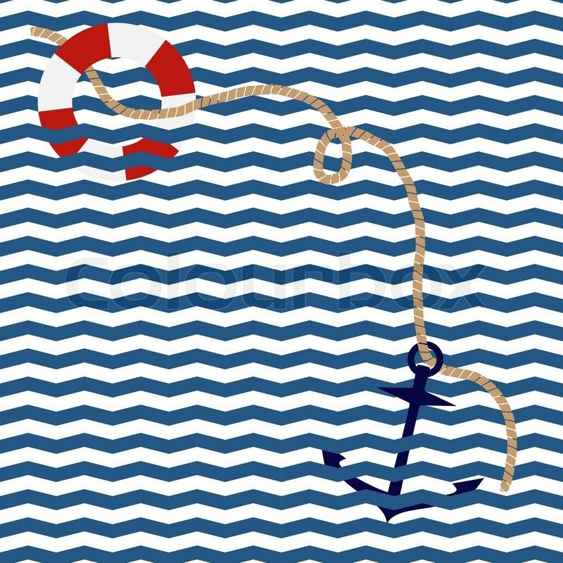 chevron anchor wallpaper