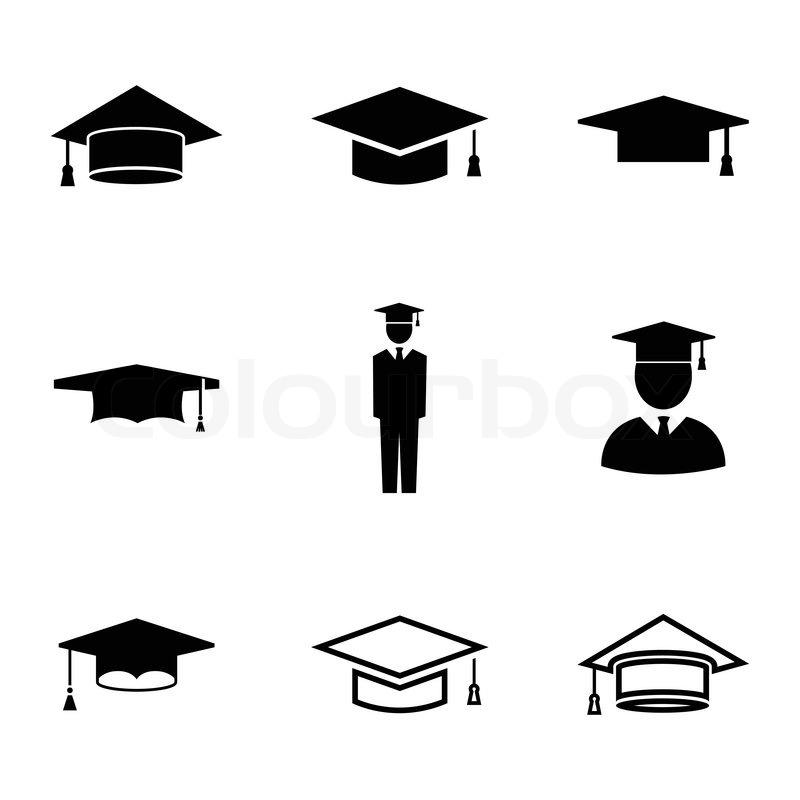 Akademiker Hut Symbol