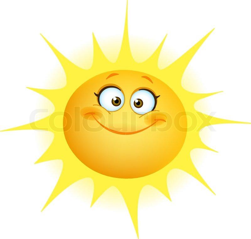 """süße Sonne"" | Vektorgrafik | Colourbox"