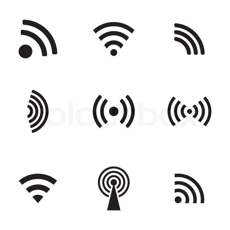 Antenne, symbol, podcast | stock vektor | Colourbox