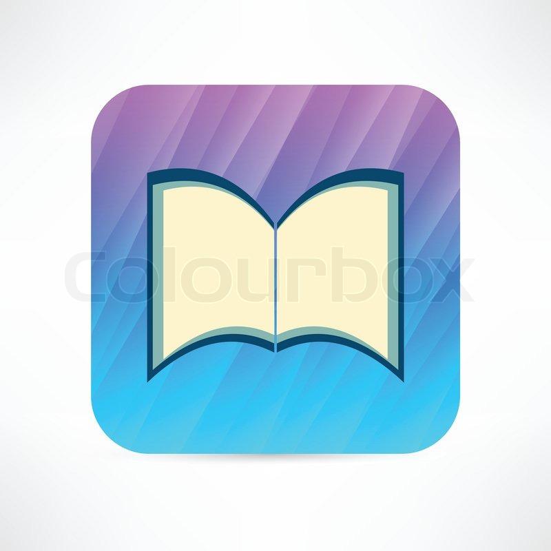 Open Book Icon Open Book Icon Vector