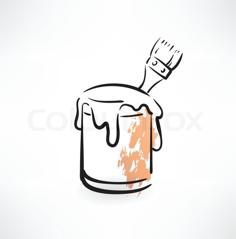 Paint Bucket Vector Stock Vector of 39 Paint Bucket