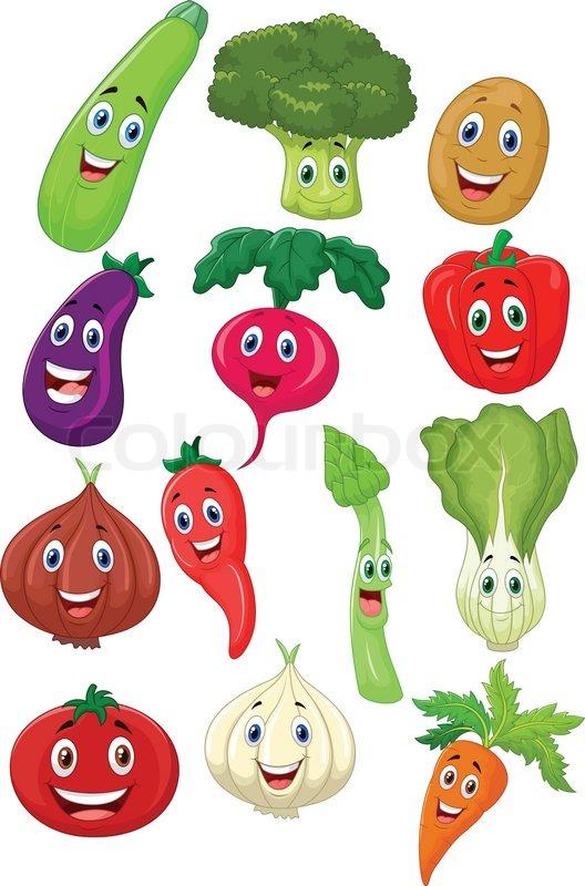 Illustration Vegetable Shop