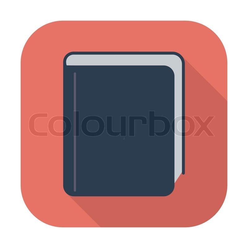 Open Book Icon Book Single Flat Color Icon