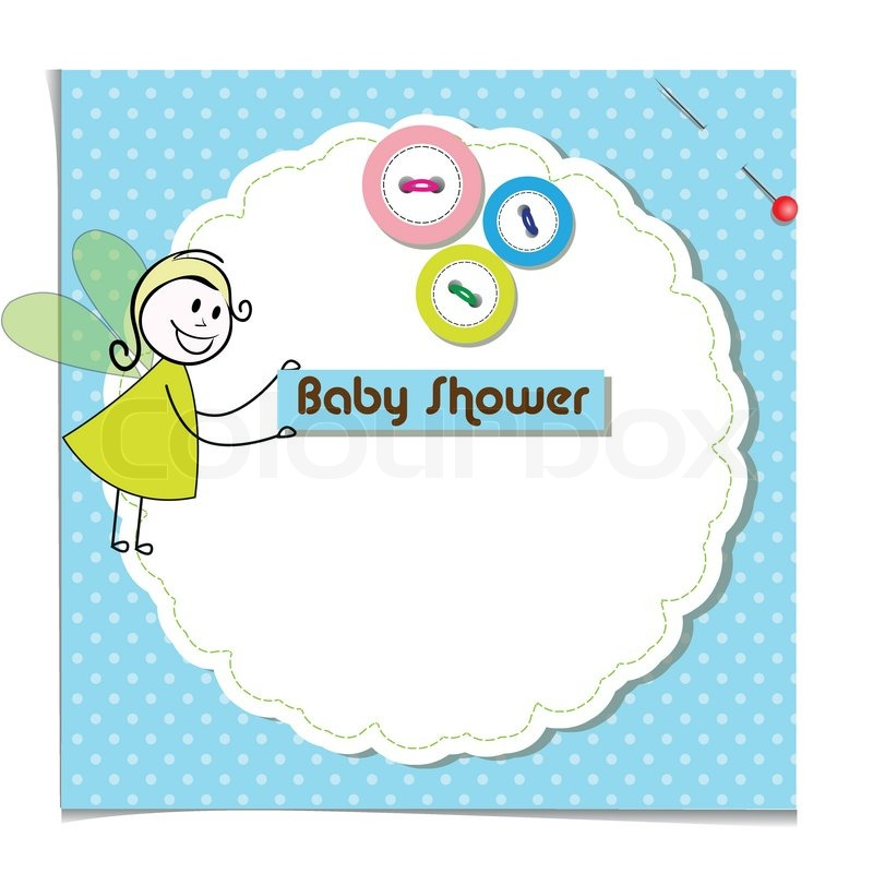 """Baby Shower Wiki: """"baby Shower Invitation Template Cute Vector Card"""""""