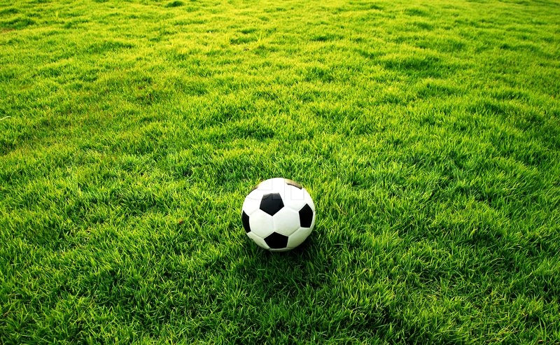 football green grass ball stadiun football field game sport background for design