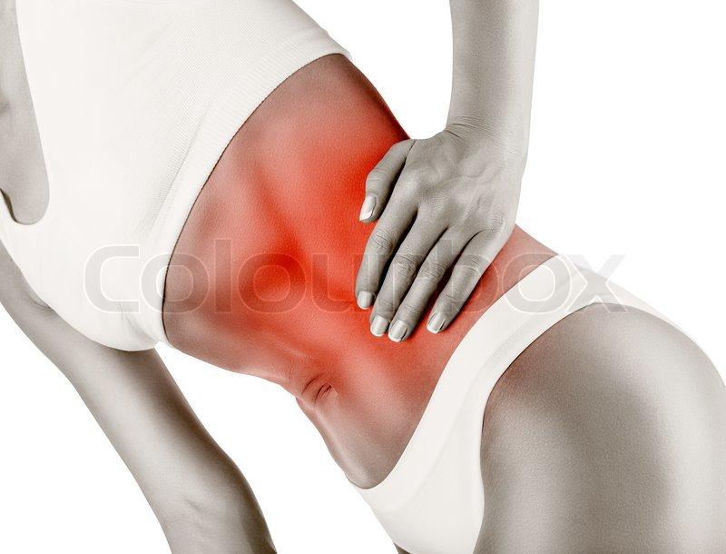 Schmerzen im Unterleib   Stockfoto   Colourbox