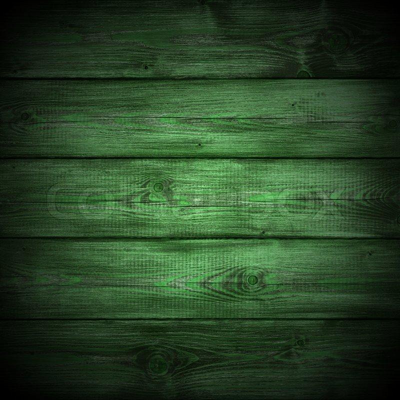 Dark Green Wood Texture Stock Photo Colourbox