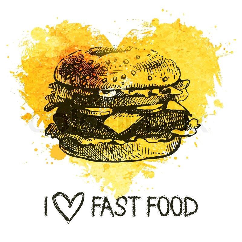 Typographie Fast Food