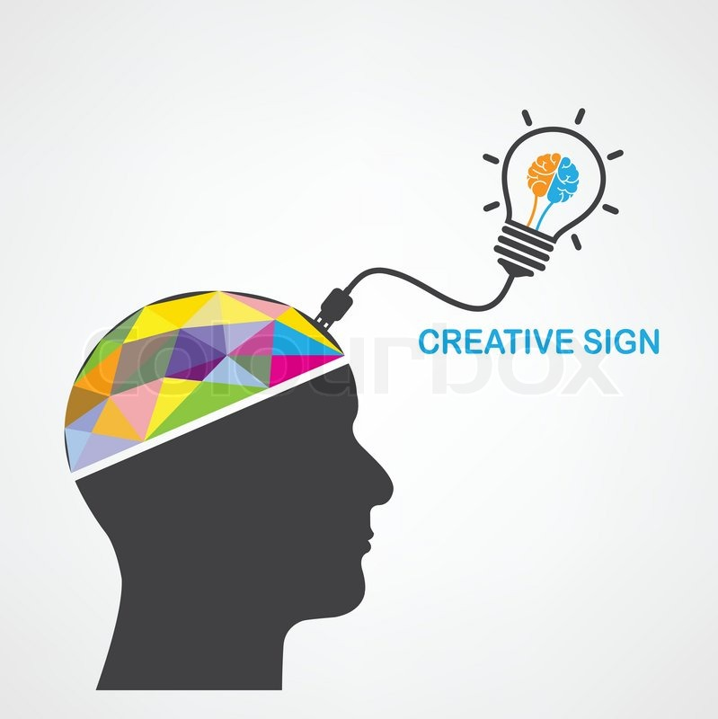 Creative silhouette head background design for poster flyer cover ...