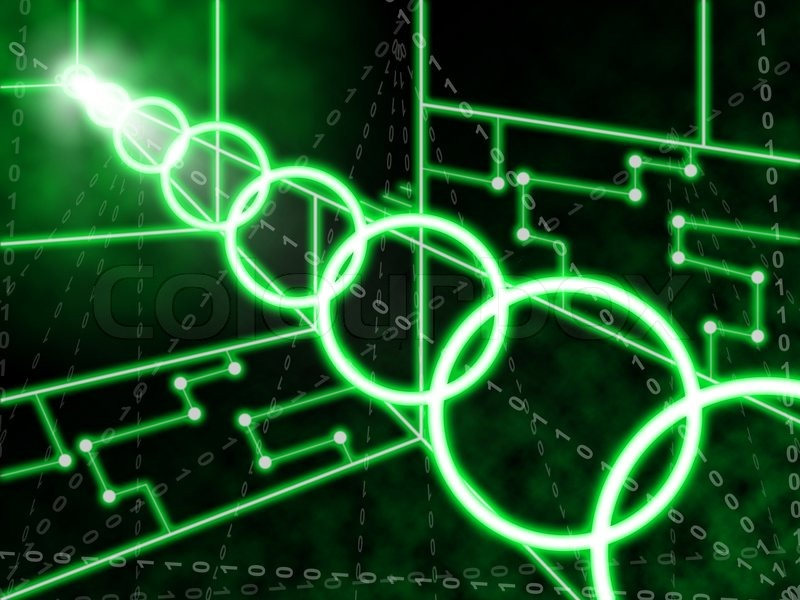 Neon Circuits Wallpaper And Background Image: Laser Circuit Background Meaning Illuminated Wallpaper Or