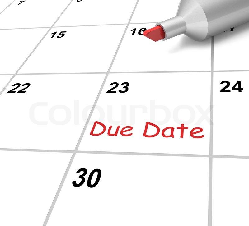 Wegen Termin-Kalender bedeutet Unterwerfung Zeitrahmen | Stockfoto ...