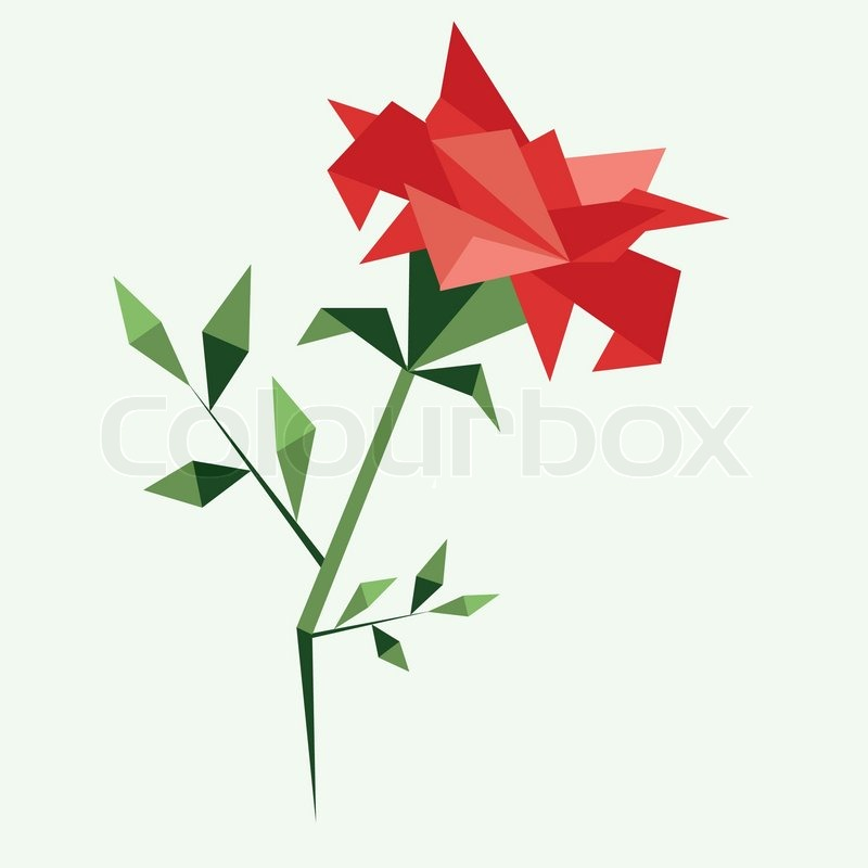 Step By Step Instructions How To Make Origami A Leaf Of Rose ... | 800x800