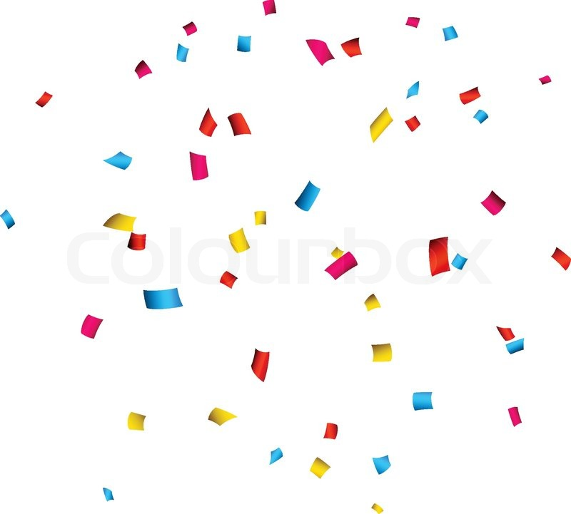colorful celebration background with confetti vector illustration rh colourbox com confetti vector freepik confetti vector freepik