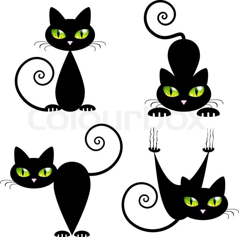 Charmant Katze Ausgeschnittene Vorlage Bilder - Entry Level Resume ...