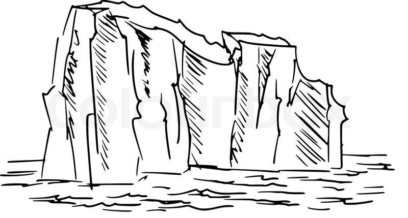 Iceberg White Cartoon Clip Art