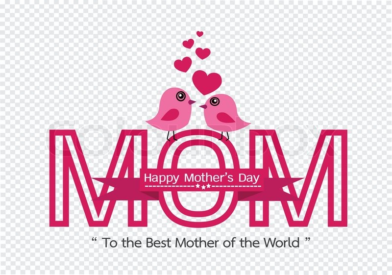Happy mothers day greeting card design for your mom stock vector happy mothers day greeting card design for your mom stock vector colourbox m4hsunfo