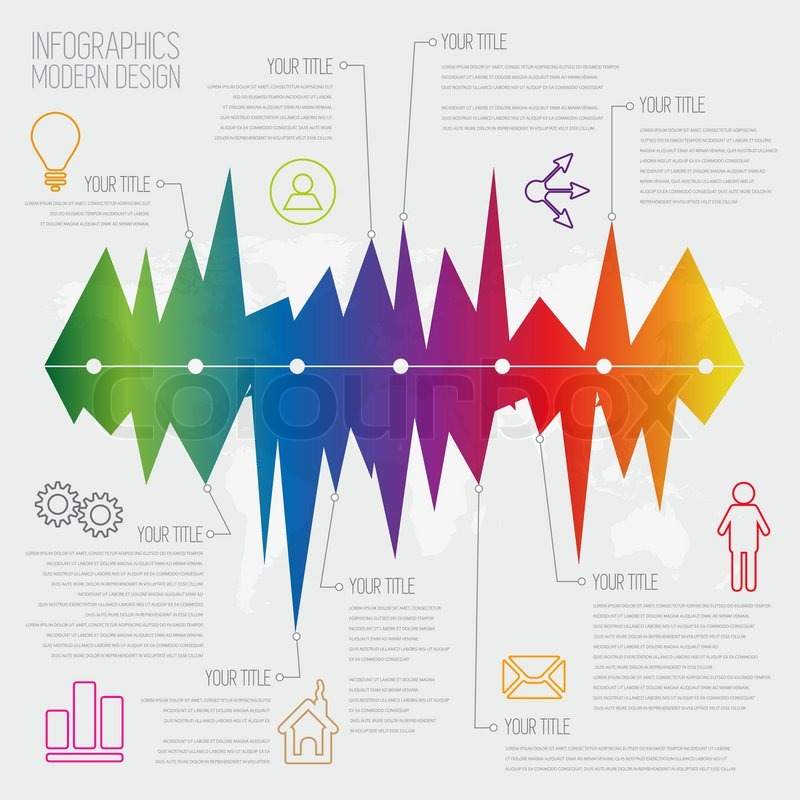 Time Line infographics design template with diagram set. Idea to ...