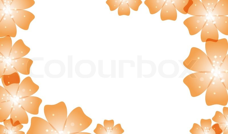 Galerry flower in colored paper