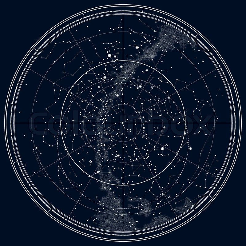 Astronomical Celestial Map of The ... | Stock vector | Colourbox on locator map, ocean map, star map, classic map, mappa mundi, magic map, traditional map, cats map, silver map, orienteering map, eden map, seasons map, coast to coast map, topological map, no map, street map, twilight map, complete map, human map, beautiful map, route choice, nature map, star catalogue, astral map, sky map, t and o map, geologic map, choropleth map, love map,