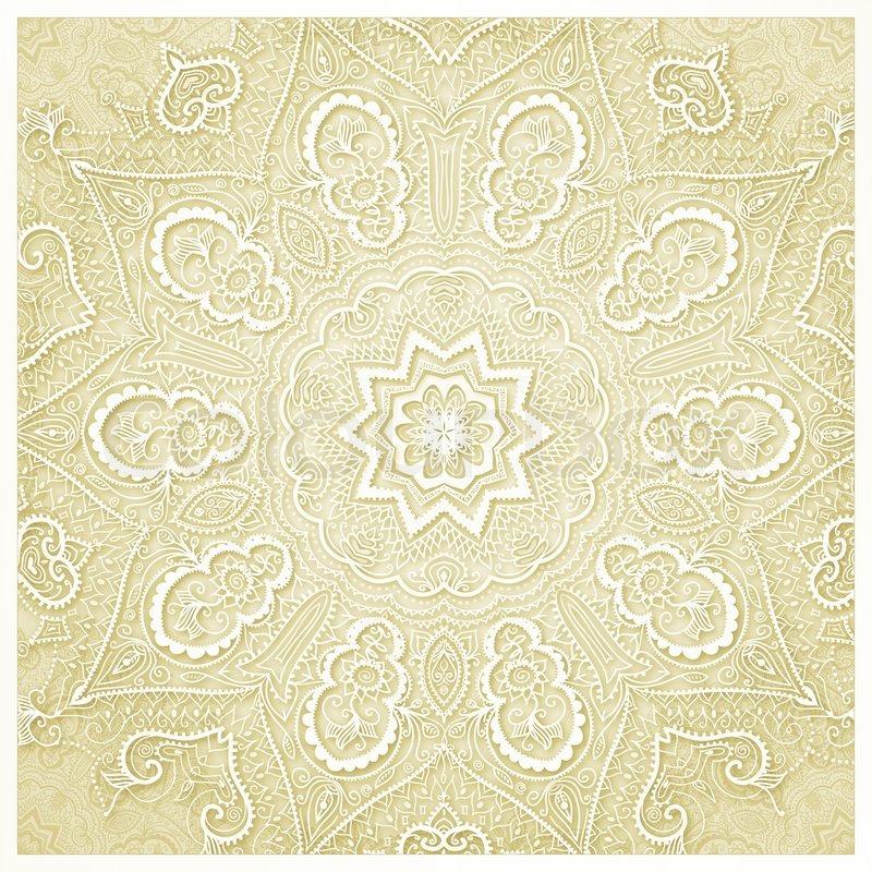 vintage wedding card background invitation design
