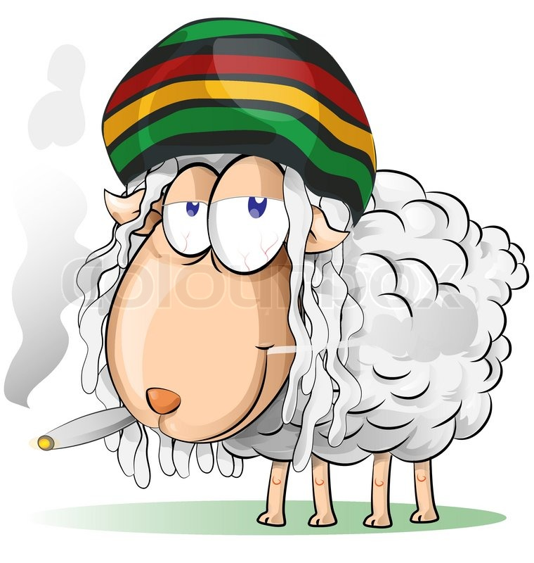 verr u00fcckte jamaikanische schafe cartoon vektorgrafik goat clip art birthday goat clip art black and white