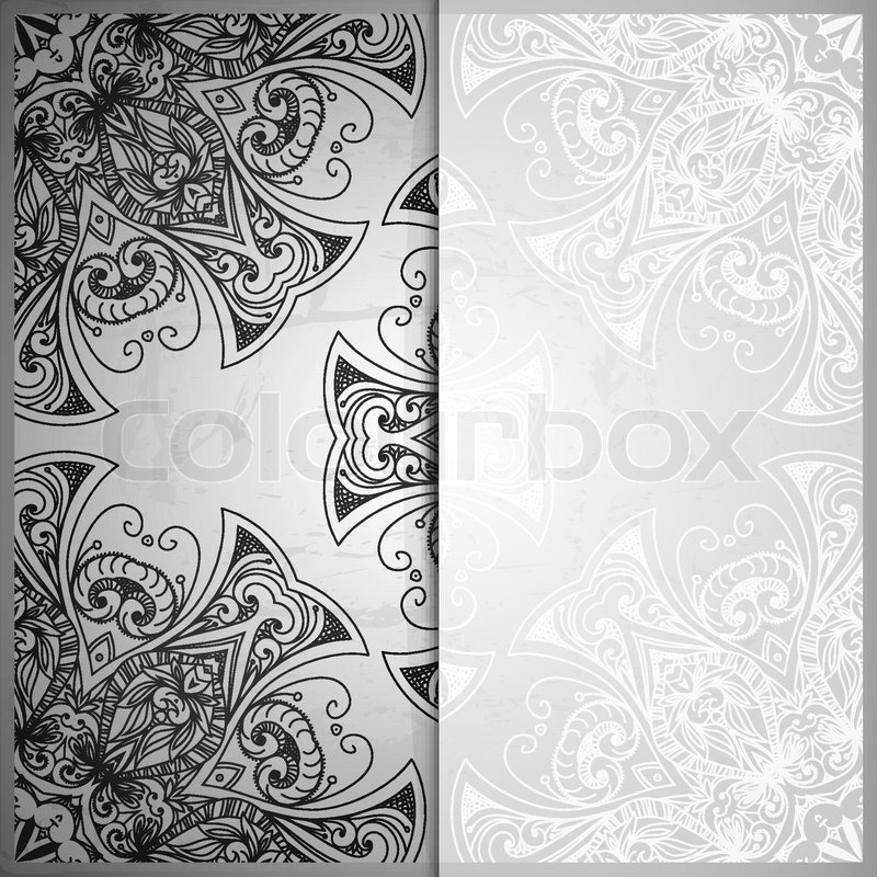Vintage vector pattern hand drawn abstract background retro banner stock vector of vintage vector pattern hand drawn abstract background retro banner stopboris Image collections