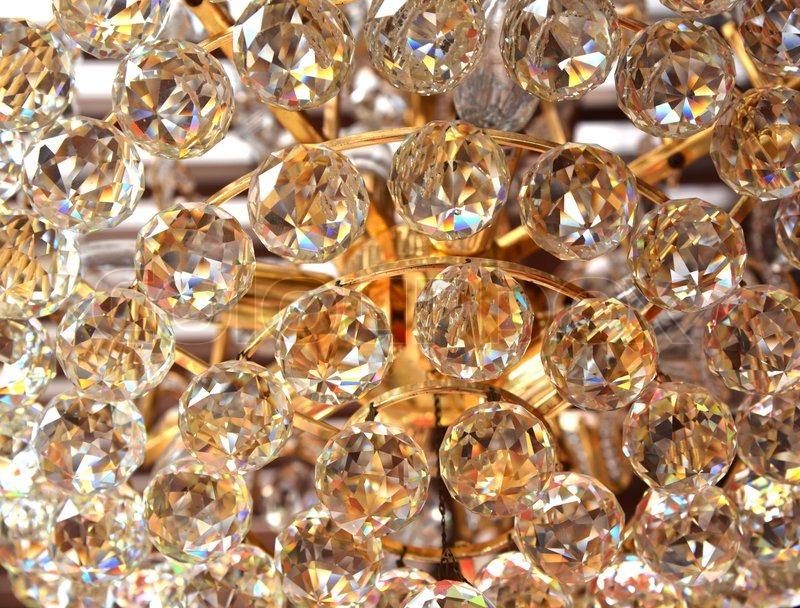 Luxury Crystal Chandelier Background