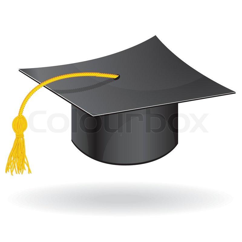 Graduation student hat cap vector icon symbol of education