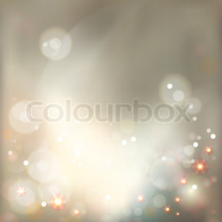 Abstract Luxury Bokeh Vector Background