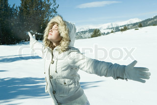 Image of 'winter, jacket, snow'