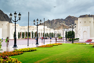 Place Sultan Qaboos Palace