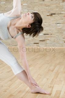 Image of 'yoga, exercise, indoors'