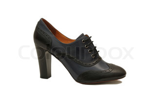 Black female shoe
