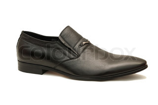 Men's shoe in black