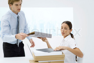Image of 'offices, workplace, paperwork'
