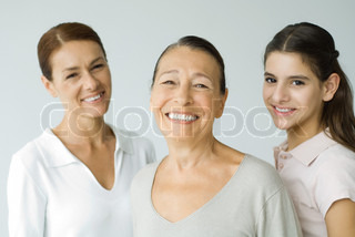 Image of 'generations, faces, woman'