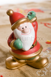 Santa Claus as Christmas decoration