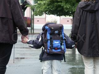 Billede af 'skolebørn, skoleelev, skoletaske'
