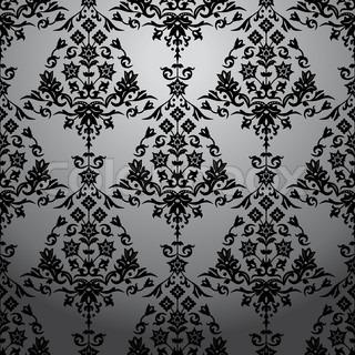Hintergrund mit nahtloser Muster. Vektor-illustration