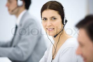 Billede af 'call center, 30, telefoner'