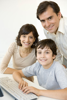 Image of 'families, family, pc'
