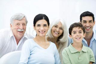 Image of 'family, pensioner, senior'