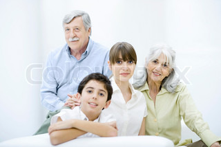 Image of 'grandfather, family, parents'