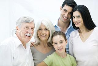 Image of 'elderly, family, generation'