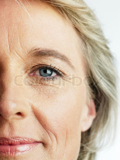 Image of 'woman, portrait, eyes'