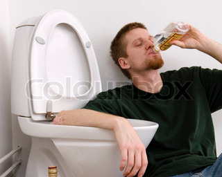 Image of 'drunk, young, wc'