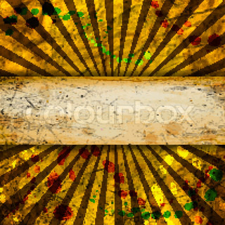 Vintage template. Rays. Abstract background with a blank texture. space for your text